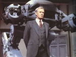 ED-209 demonstration by Dick Jones in RoboCop, Deja Reviewer