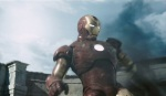 Iron Man dodges a tank missile, Deja Reviewer