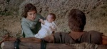 Varinia shows Spartacus his newborn son and tells him she will raise the boy in freedom, so Spartacus can die in peace.