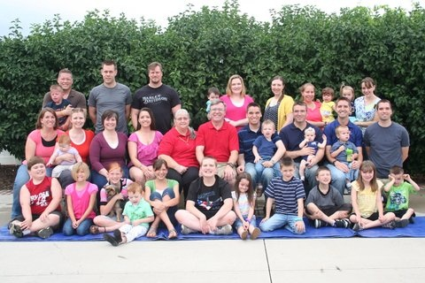 Lockard family reunion 2012