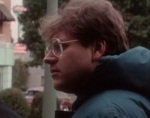 Director Robert Zemeckis on the set of Back to the Future