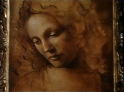 Danielle's portrait by Leonardo da Vinci in <b>Ever After</b>. - danielles-portrait-by-leonardo-da-vinci-in-ever-after