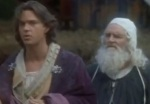 Leonardo da Vinci gives Prince Henry fatherly advice.