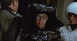 Thank goodness Dark Helmet wears such a big helmet. Spaceballs