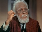 The old bank owner in Mary Poppins is a senile fool, but he has a change of heart just before he dies.