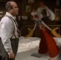 Eddie Valiant helps Roger Rabbit solve a murder, but it's a different murder in the film and book.