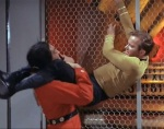 Khan is physically and mentally more powerful, but he underestimates Kirk's resourcefulness and determination.
