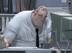 Mr. Incredible finds his life without superhero work to be very dull.