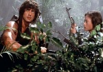 Rambo makes his way into the POW camp with the help of a Vietnamese woman who also helps him escape when he is captured.