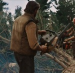 When Logan seeks to live a quiet life he works as a lumberjack instead of a killer.
