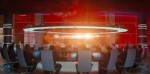 A room full of Starfleet leaders is ambushed, and many are killed.
