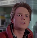 Michael J. Fox was born to play the role of Marty McFly.