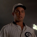 "All ""Shoeless"" Joe Jackson seems to be concerned with through most of the film is being able to play baseball again."