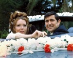 George Lazenby portrayed a sensitive James Bond who actually gets married.