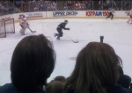 The music in Untamed Heart by composer Cliff Edelman captures the excitement of the hockey game.