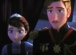 Elsa and Anna have parents at the beginning of the story but become orphans when their parents die at sea.