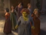 Shrek the Third tried a princess team-up.