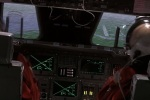 During a space shuttle landing simulator, Tommy Lee Jones as Hawk asks for the computer to malfunction so he would have to guide it in manually.