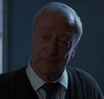 Michael Caine's acting in this scene is impeccable. He seems literally on the verge of tears at losing someone he's loved like a father.