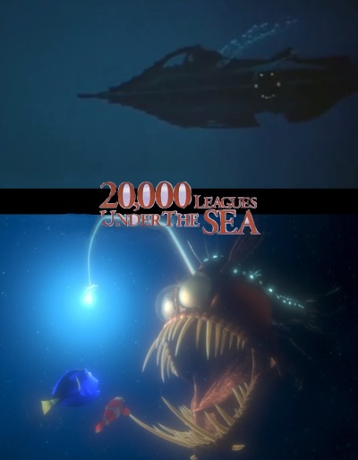 20,000 Leagues Under the Sea, Finding Nemo movie mashup