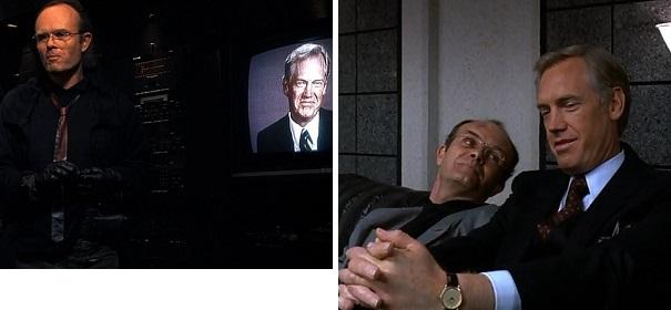 Dick Jones hires Clarence Boddicker to kill Bob Morton and then to kill RoboCop.