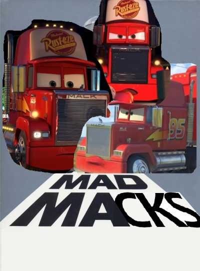 Mad Macks - Cars and Mad Max mashup