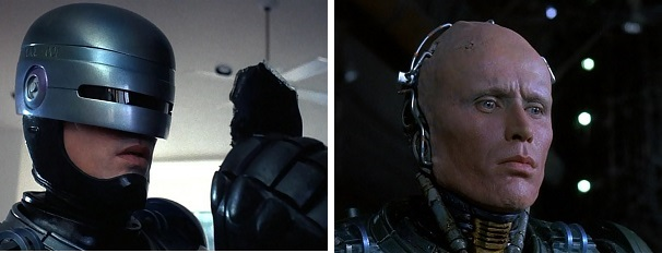 RoboCop goes to where he used to live and tries to remember his family but later he goes to where he died and realizes he can't remember.