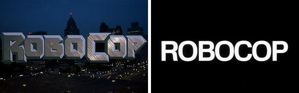 RoboCop title bookends.