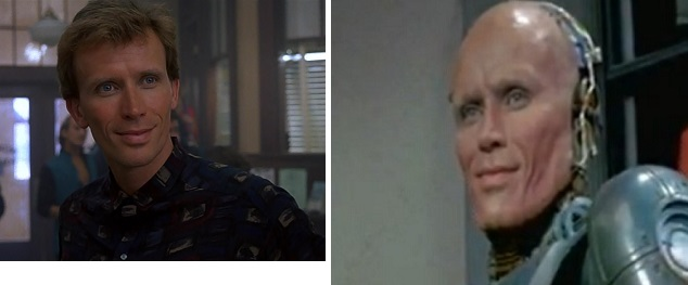 The main character introduces himself as Murphy at the start of the film and at the end.