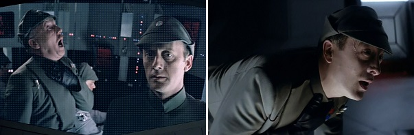 Darth Vader kills Admiral Ozell and Captain Needa for their failures.
