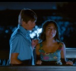 Gabriella leaves Troy when he ignores her in favor of pleasing people who might give him a scholarship.