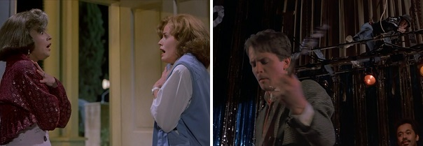 Marty and Jennifer attempt to sneak around the past and future.