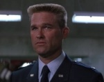 Colonel Jack O'Neil shuts Daniel out of the loop.