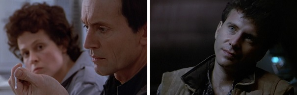 Ripley is scared Bishop will try to kill her like Ash did, but Carter Burke turns out to be the traitor.