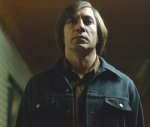 Anton Chigurh never meets the Texas sheriff who's pursuing him in No Country for Old Men.