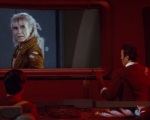 Khan and Kirk speak via viewscreen but never in person.