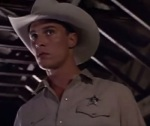 Early in his career, Matthew McConaughey played a mysterious Texas sheriff in Lone Star.