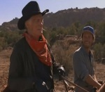 Jack Palance steals the show in the western comedy City Slickers.