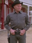 Yul Brynner's gunslinger android malfunctions and becomes a deadly menace in Westworld.