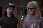 Wayne and Garth are not saviors, but they are content to point out plot holes.