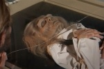 A decomposing corpse is all that's left of one of Taylor's crew members after her hypersleep chamber cracks.