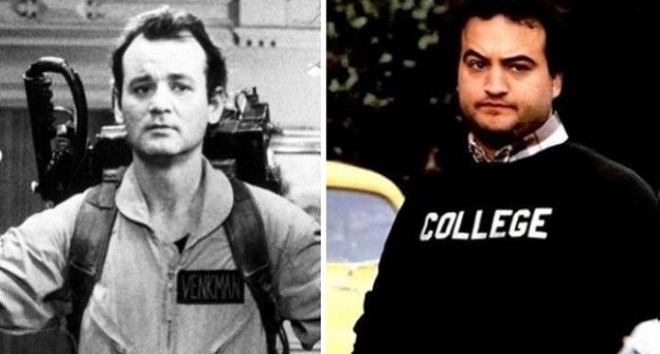 Bill Murray got the leading role in Ghostbusters after the actor the part was written for, John Belushi, passed away.