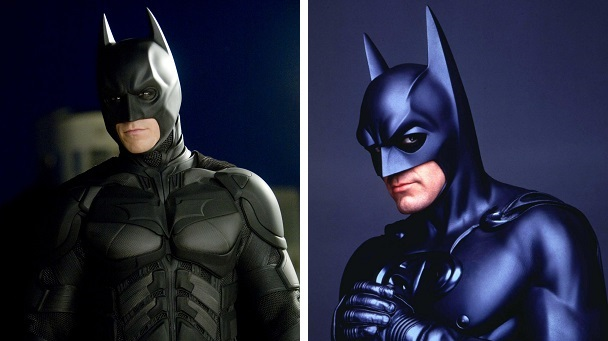 Christian Bale was cast as Batman after George Clooney's disastrous take on the character.