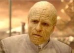 Guy Pearce plays Peter Weyland, a hapless deep space explorer in Prometheus