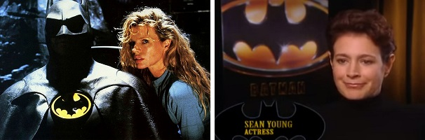 Kim Basinger got the high-profile part of Vicki Vale after Sean Young broke her arm during a rehearsal.