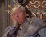King Arthur is bored out of his mind listening to Tom Trimble reveal hundreds of years' worth of information about the future.