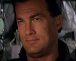 Steven Seagal looks like he's ready to run the show in Executive Decision.