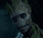 Groot's facial expressions make him seem as talkative as any of the Guardians of the Galaxy.