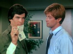 Pierce Brosnan plays a con artist masquerading as a P.I. named Remington Steele
