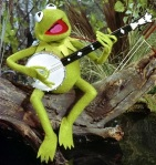 Kermit the Frog was one of Jim Henson's earliest creations.